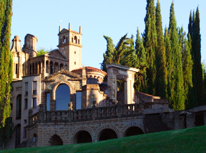 The grounds of La Scarzuola