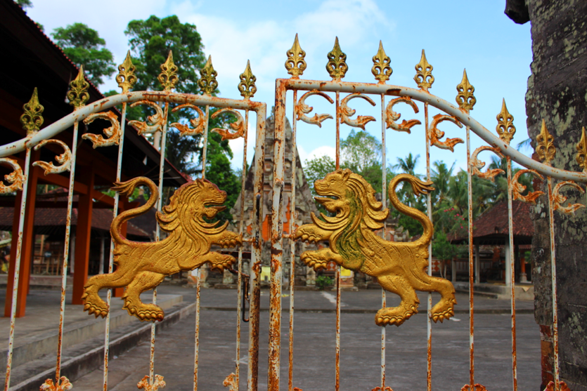 Temple gates, near Ubud