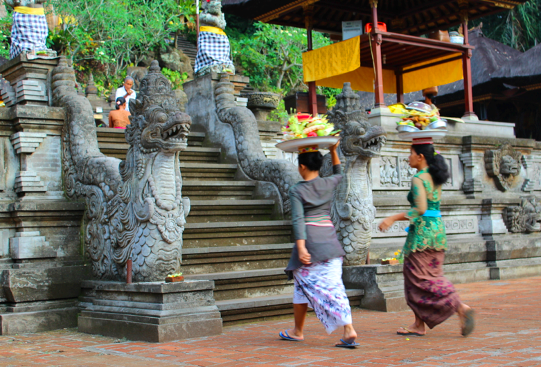 A different random temple near Ubud