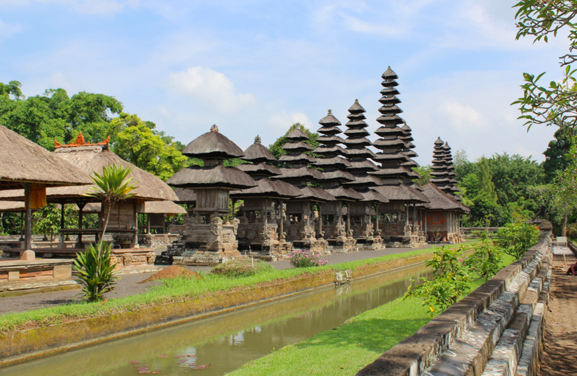 Mengwi palace temple