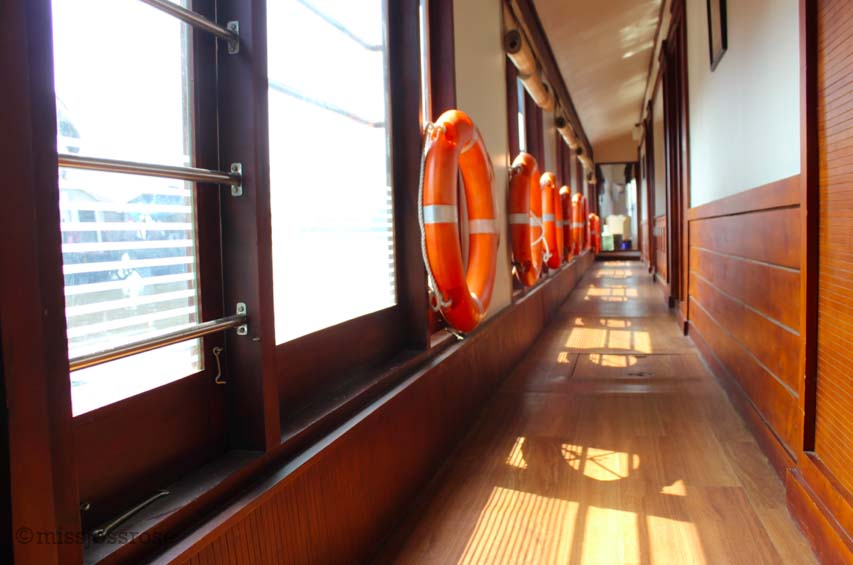 Hallway on the houseboat
