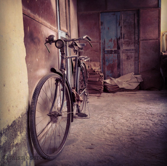 A bike at the ginger factory