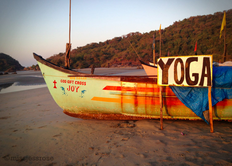 Yoga is very popular throughout Goa