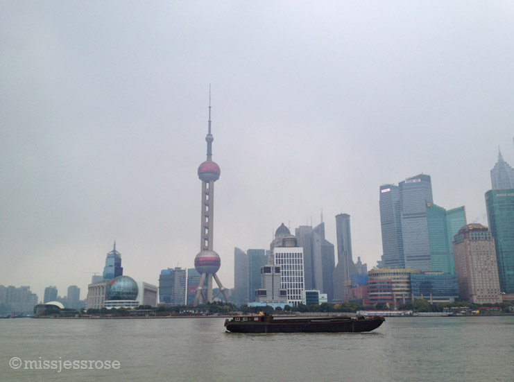Shanghai, another hazy view