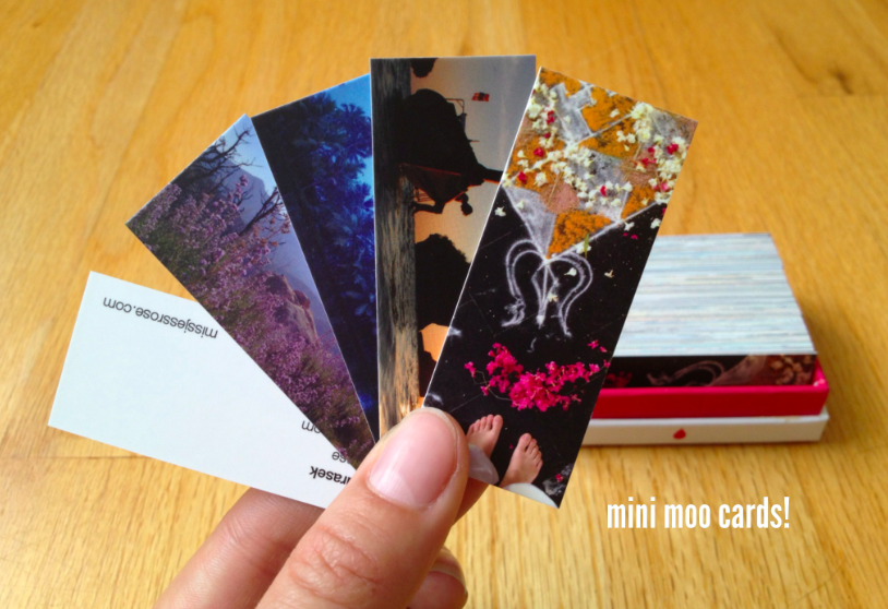 My customized photo business cards