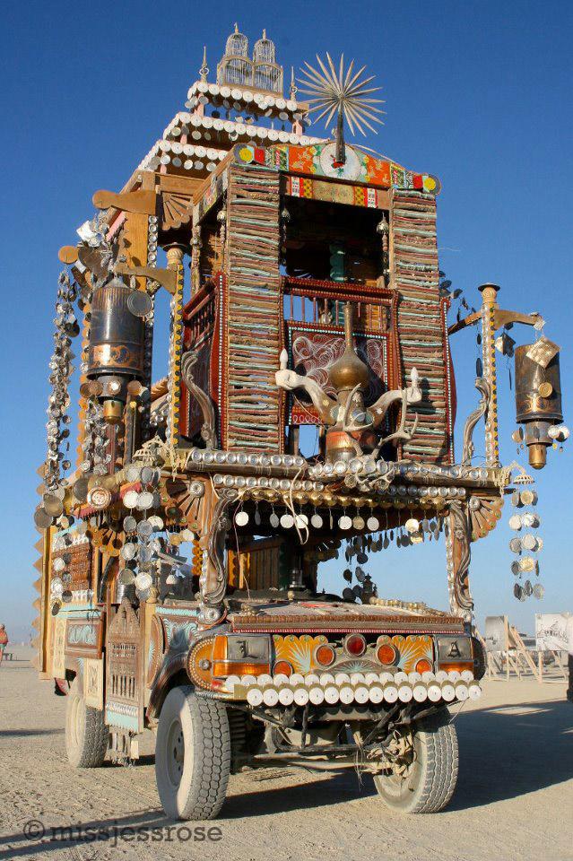 Shrine's art car