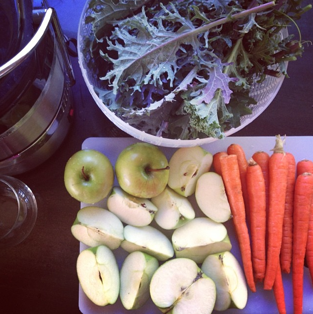 Juicing at home