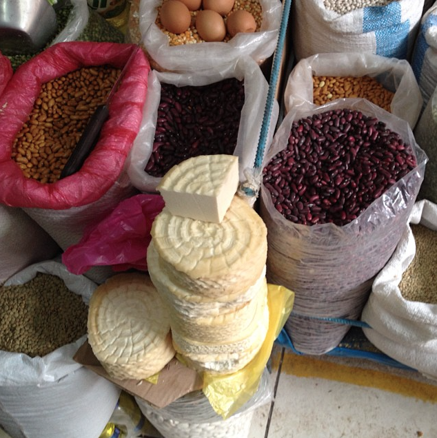 Mercado Ollantaytambo, Peru
