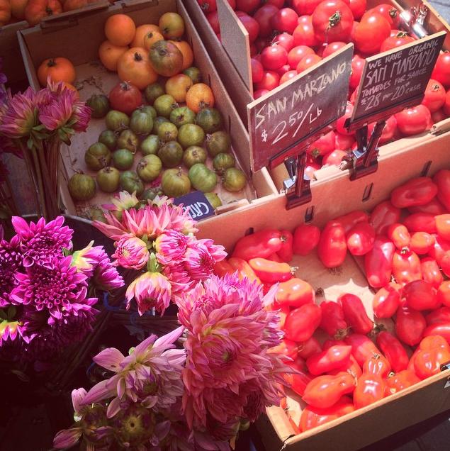 Farmer's market, Oakland