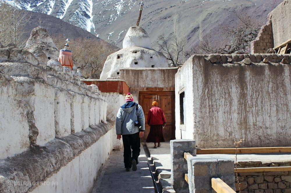 Exploring Alchi monastery