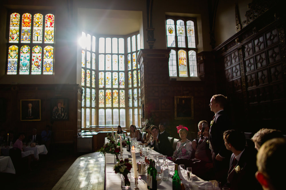 Kings College wedding - Cambridge wedding - wedding speeches