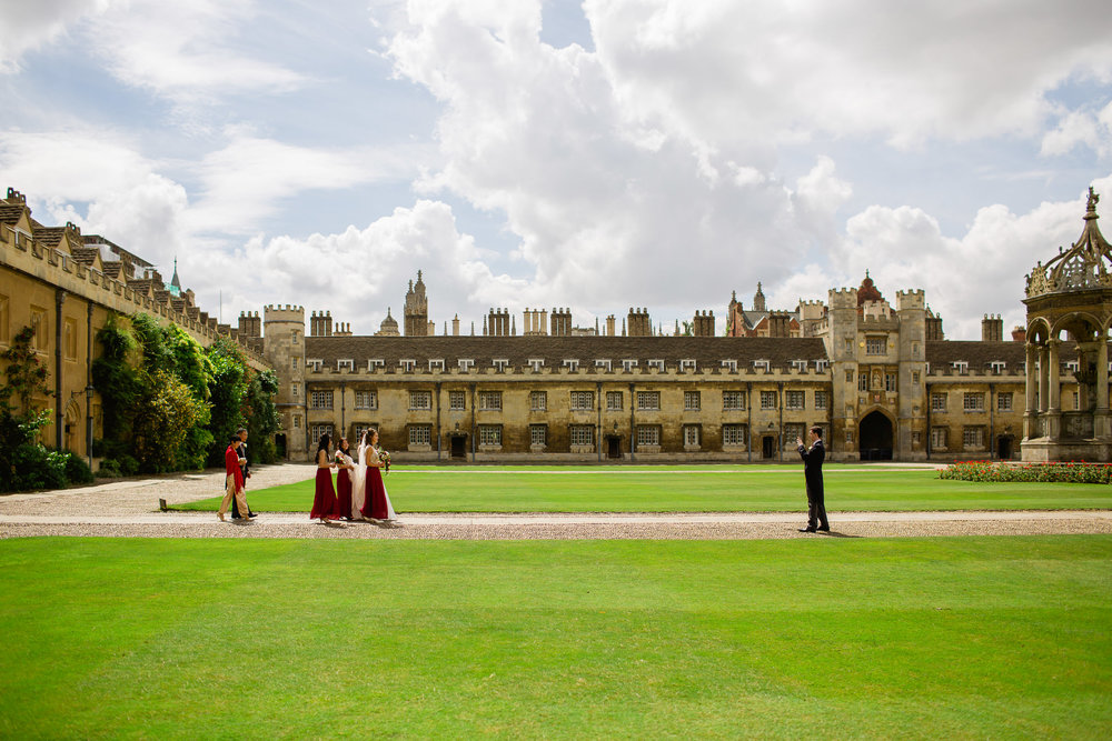 Kings College wedding - Cambridge wedding - wedding precision