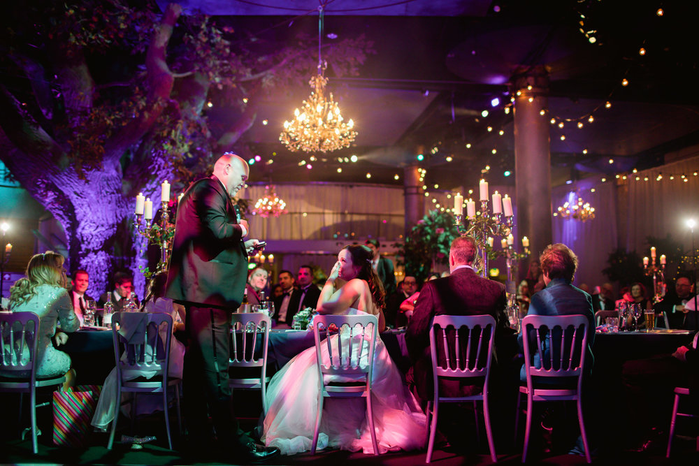 Globe theatre London wedding - speeches at a wedding - london wedding