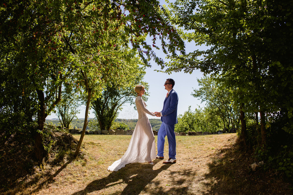 wedding at Castelnau Des Fieumarcon - wedding pictures at Castelnau Des Fieumarcon