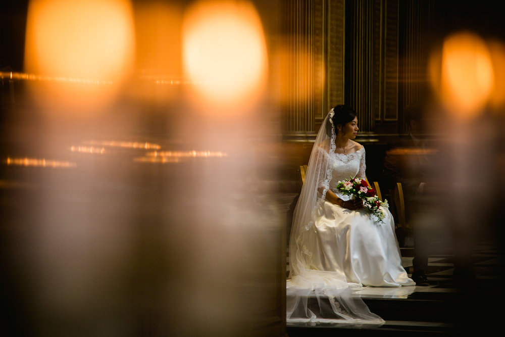 wedding at Kings college Cambridge - Bride at Kings - Cambridge wedding