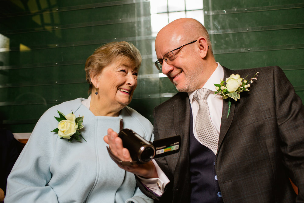 Wedding at Chelsea registry office - mother and son wedding day - Chelsea wedding photography