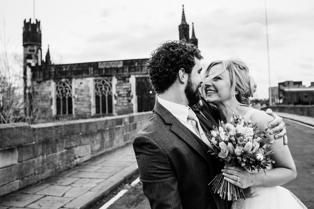 hepworth wedding couple