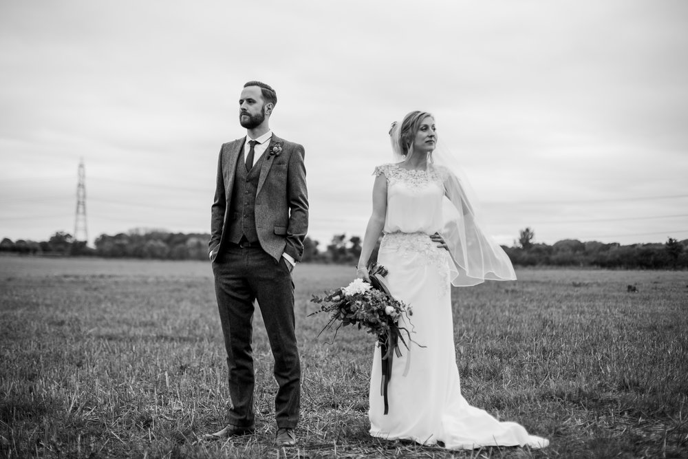 shustoke barn wedding portraits