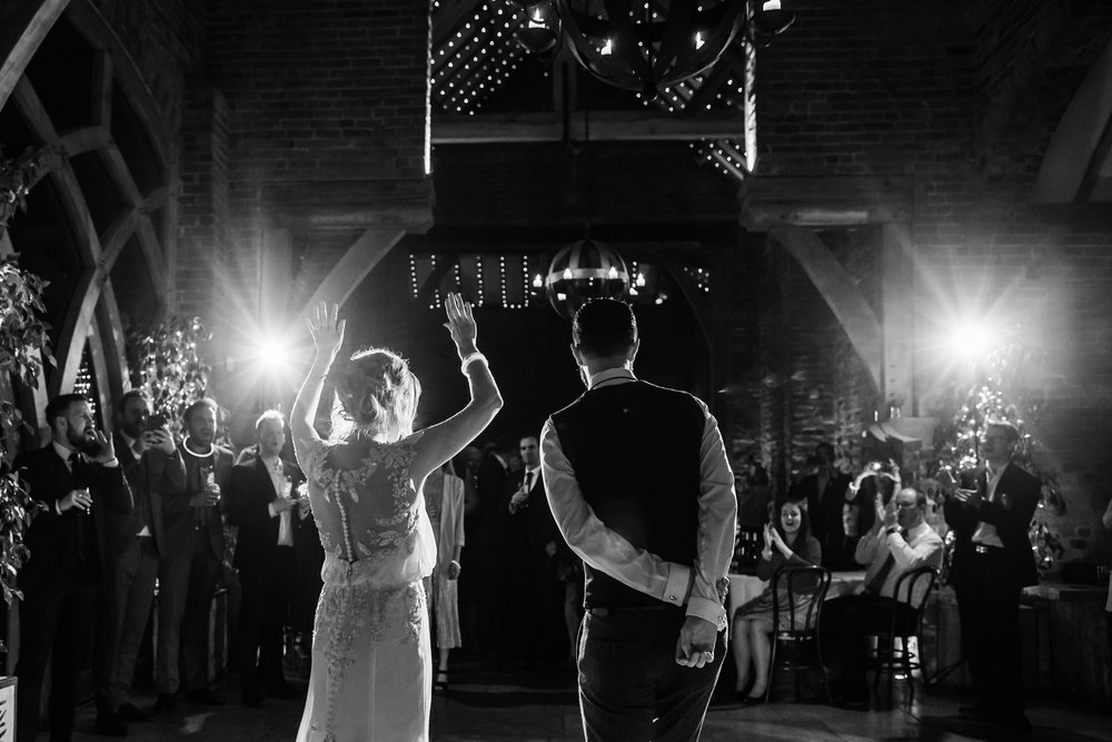 first dance at shustoke barn