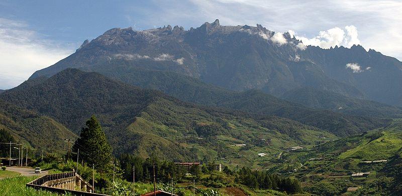 The Majestic Mt Kinabalu from Kundasang. Credits - Wikimedia