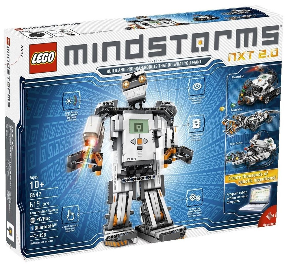 An older version of Lego Mindstorms.