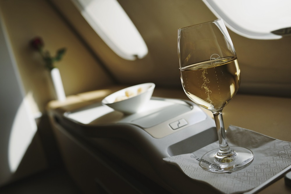 Lufthansa First Class, A380