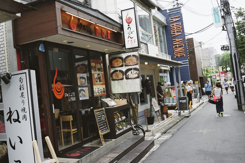 Italian Udon, Harajuku, Tokyo, Japan