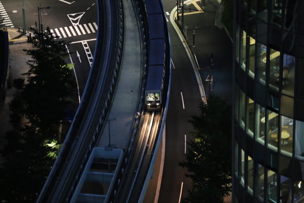 Yurikamome Line, Shiodome, Tokyo