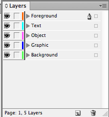 here is an applescript to create layers automatically in indesign rh ashrafali net