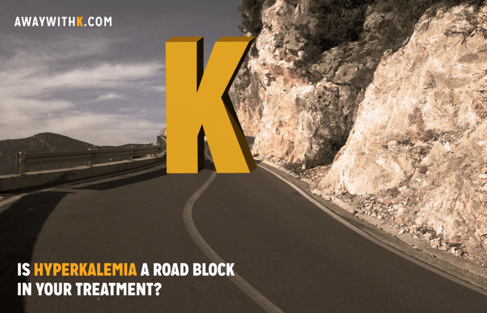 Potassium as a roadblock to treatment