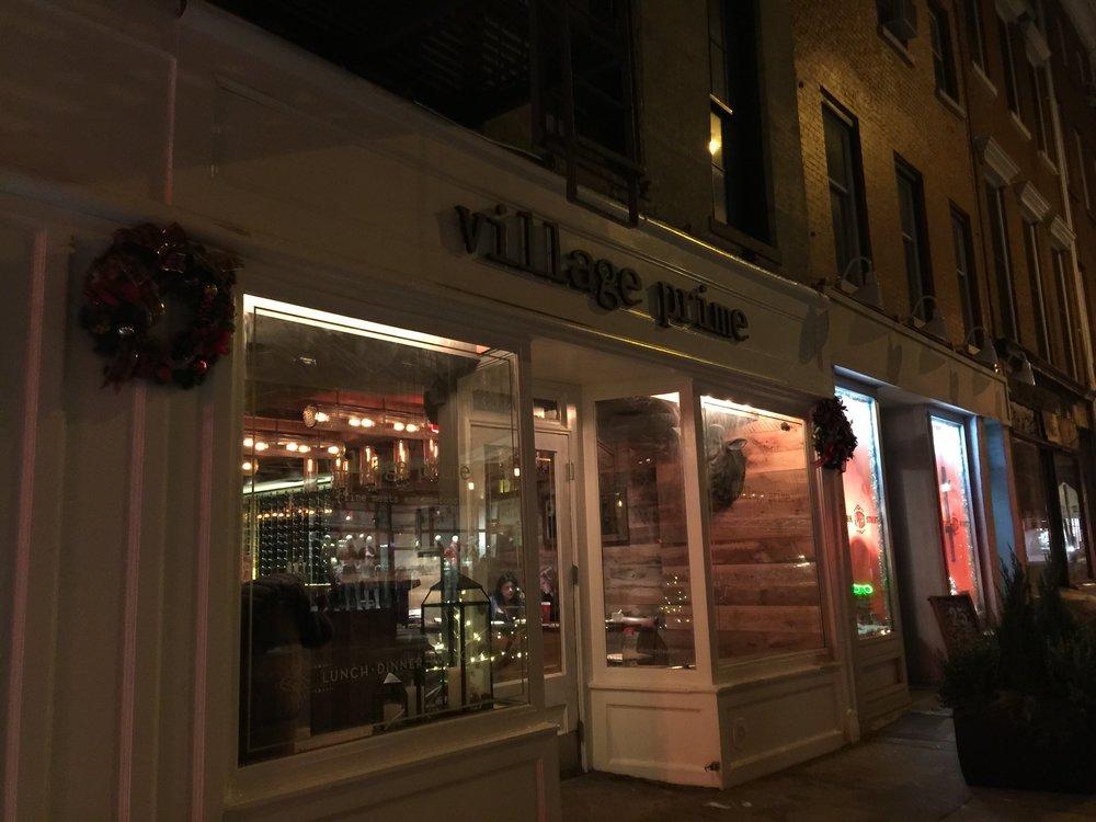 Village Prime Store front