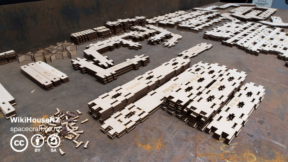 High-precision laser-cut scale models - lean development