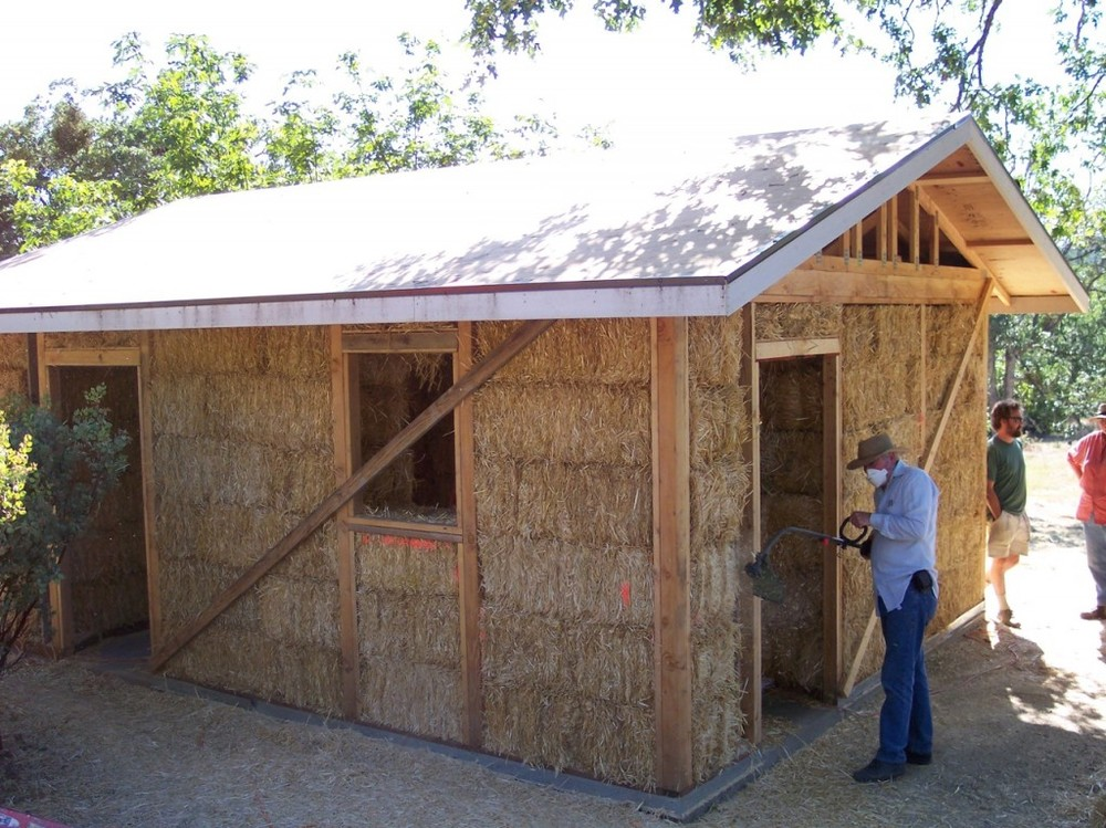 Straw Bale Construction at Ferncliff
