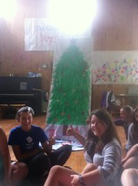 Christmas Tree at #STANDatCAIRN