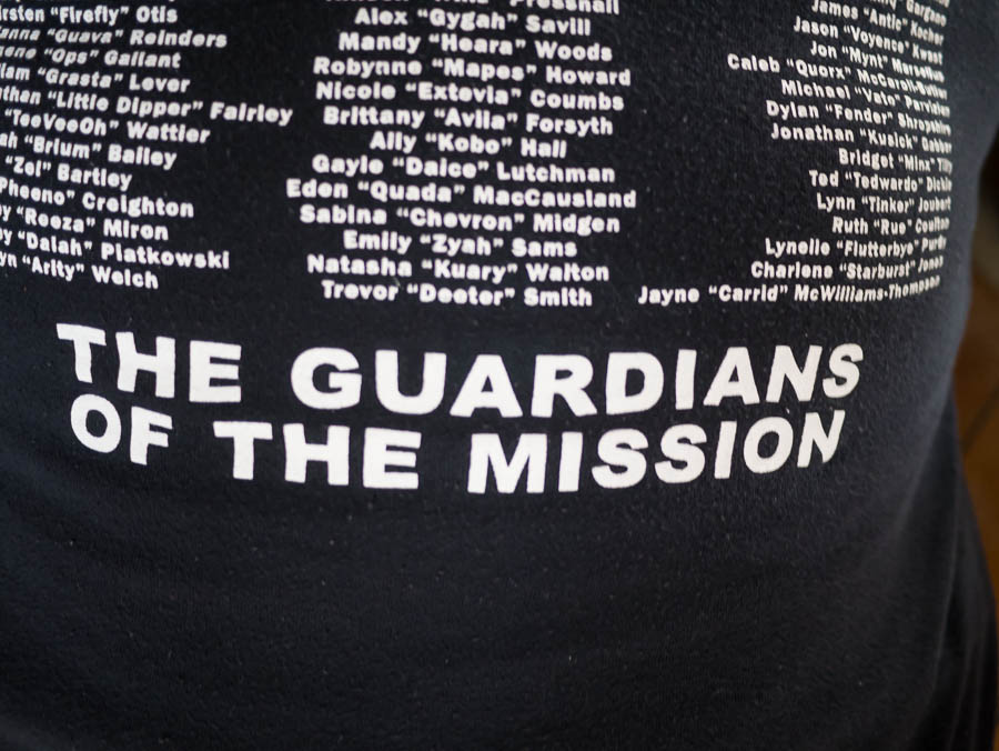 Your staff are The Guardians of the Mission