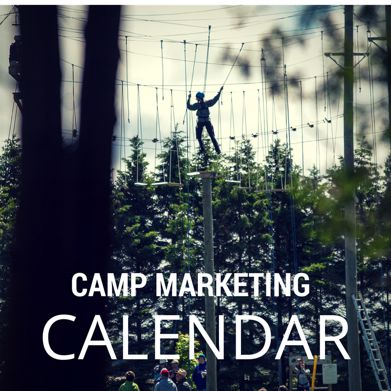 A complete social media and blog strategy tool for your camp!