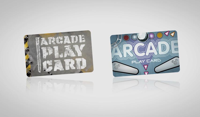 Disney arcade cards