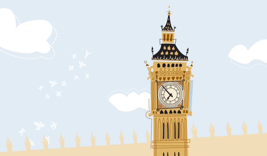 Big Ben illustration