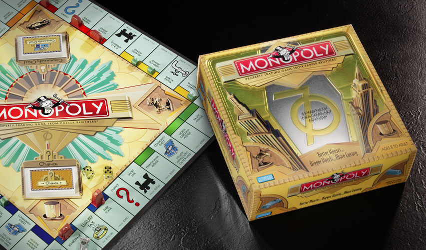 Monopoly 70th anniversary