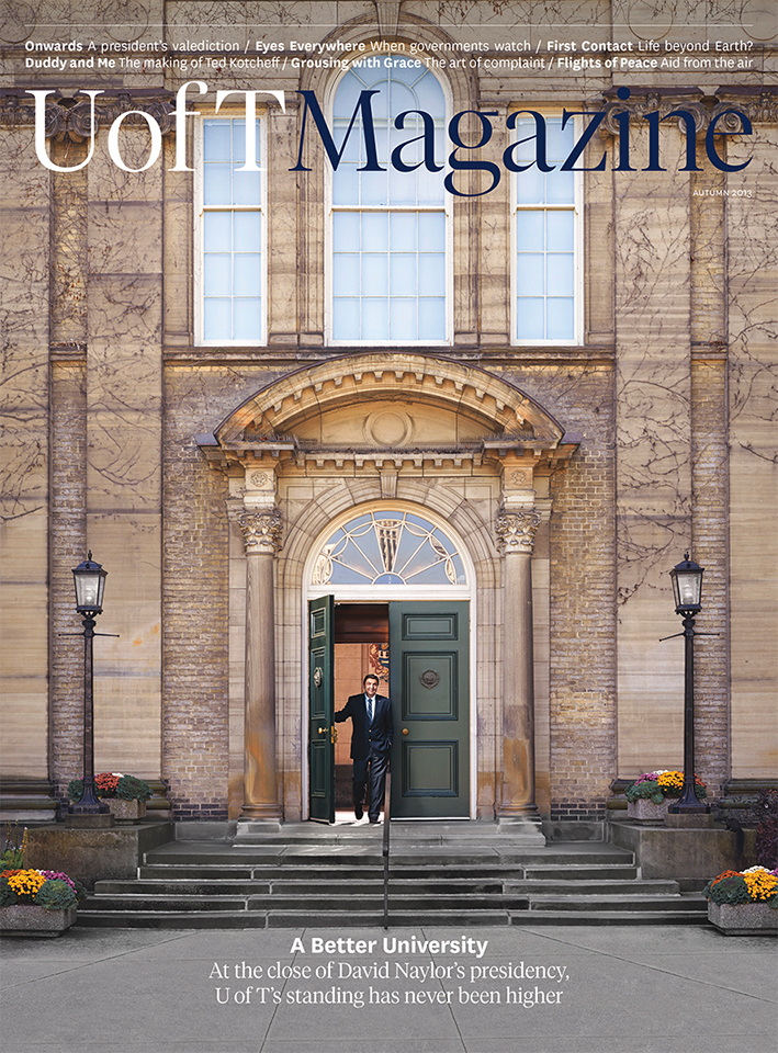 U of T Magazine Art Director - Gilbert Li