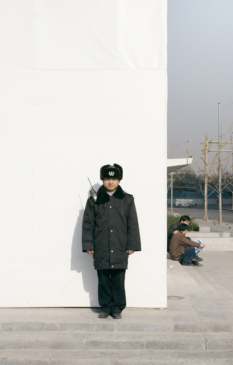 """Pacific Distance, Beijing Guard #1"", 2009  36"" x 23"""
