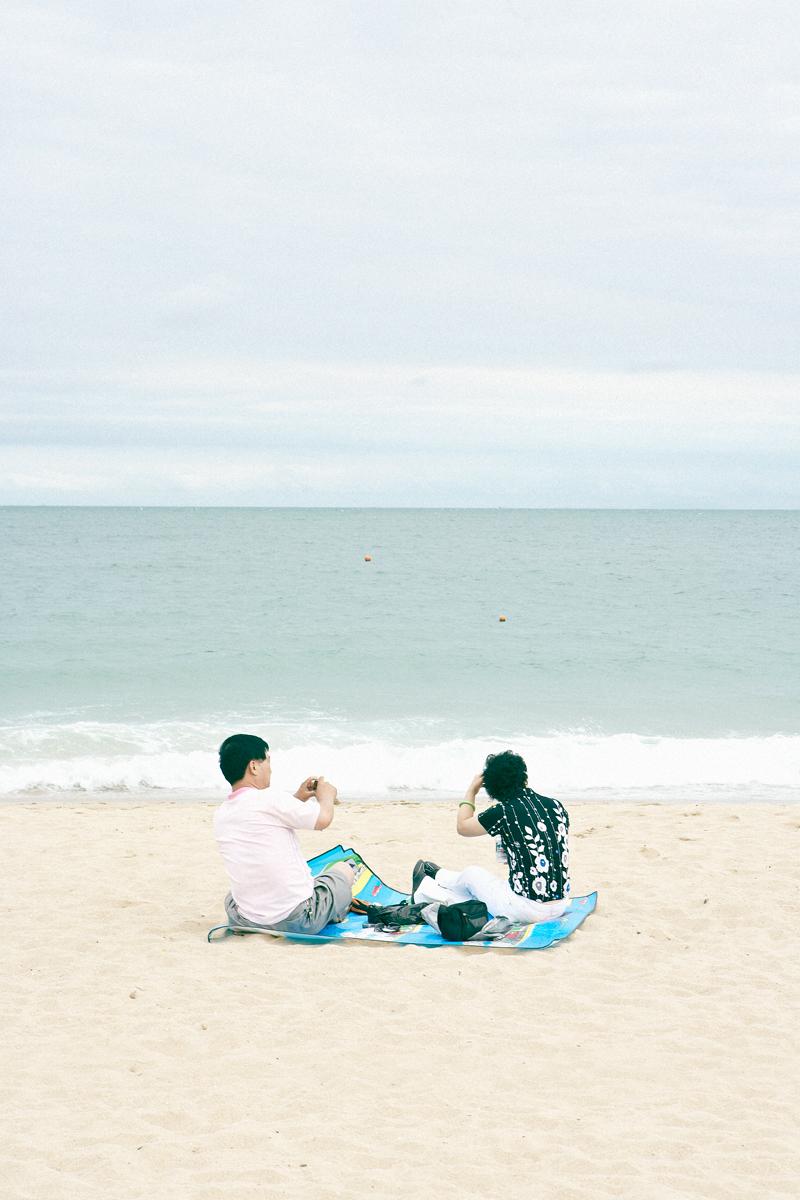 """Pacific Distance, Busan Couple #1"",2009  36"" x 24"""