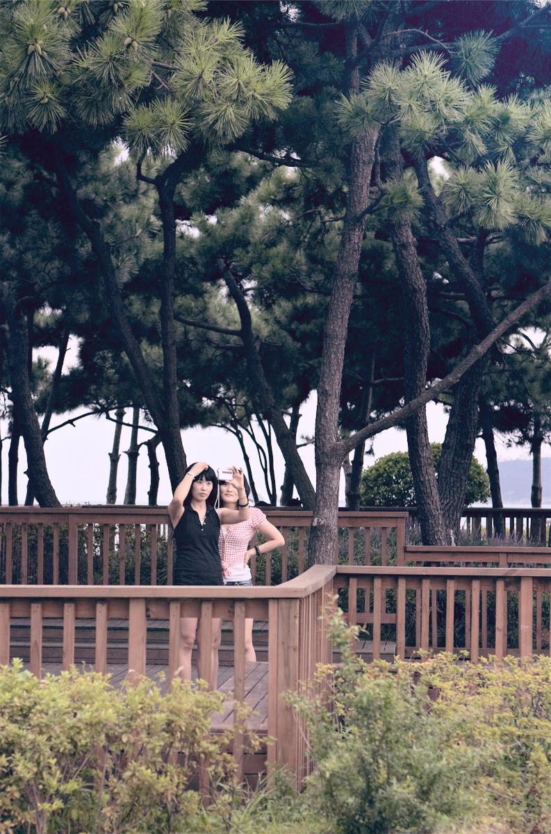 """Pacific Distance, Busan Couple #2"",2009  36"" x 24"""