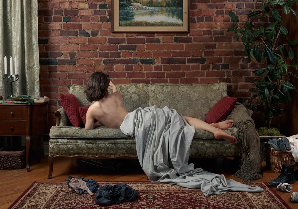 """Self Portrait"", 2015 - 2016  48"" x 68"""