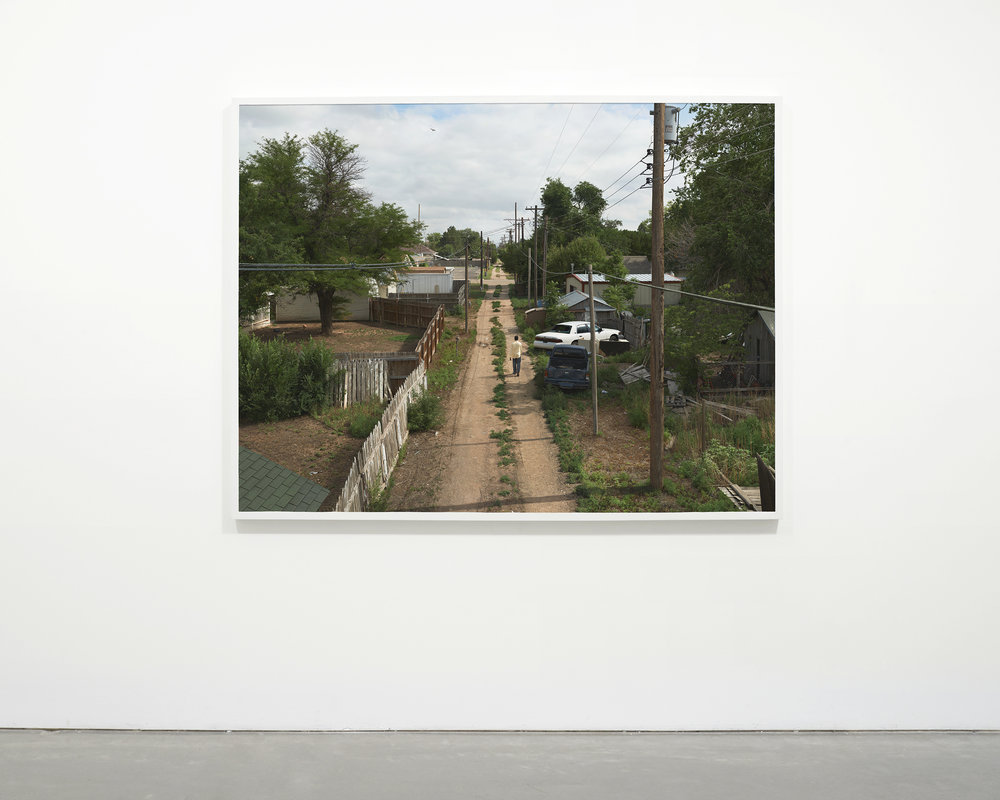 """Alley"", 2013 - 2015  54 x 71.75 in (137.15 x 182.25 cm)"