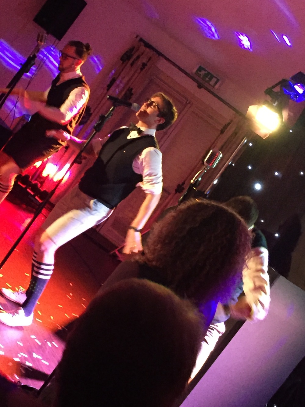 The Souljers performing at a wedding at Sketchley Grance, Leicestershire