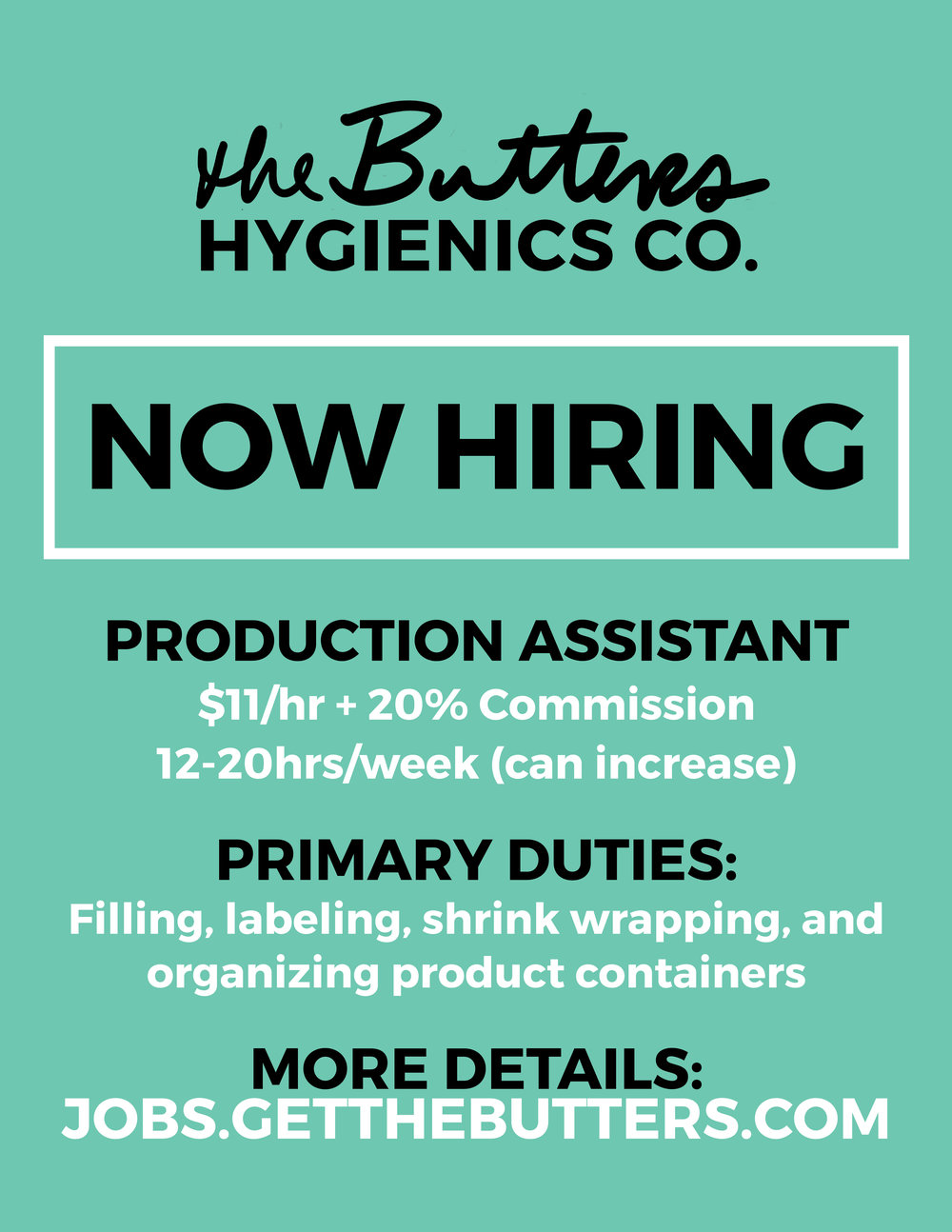 Now Hiring Production Assistant.jpg