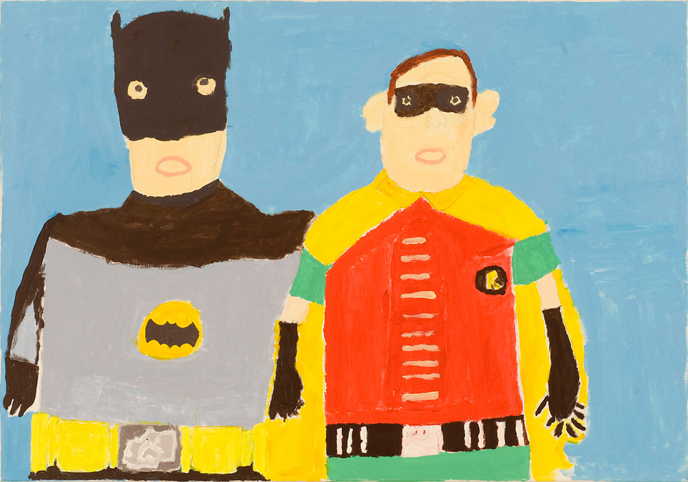 Batman and Robin by John Croft  >   www.projectartworks.org