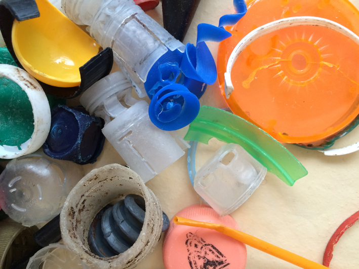 Trash or Treasure - A Peripheral View - beach plastic