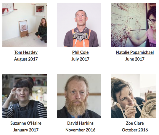 Artist of the Month    at Phoenix Brighton July 2017   I was the featured artist of the month for July at Phoenix Brighton. Check out the entry and read about other artists who have studios at  Phoenix Brighton here.